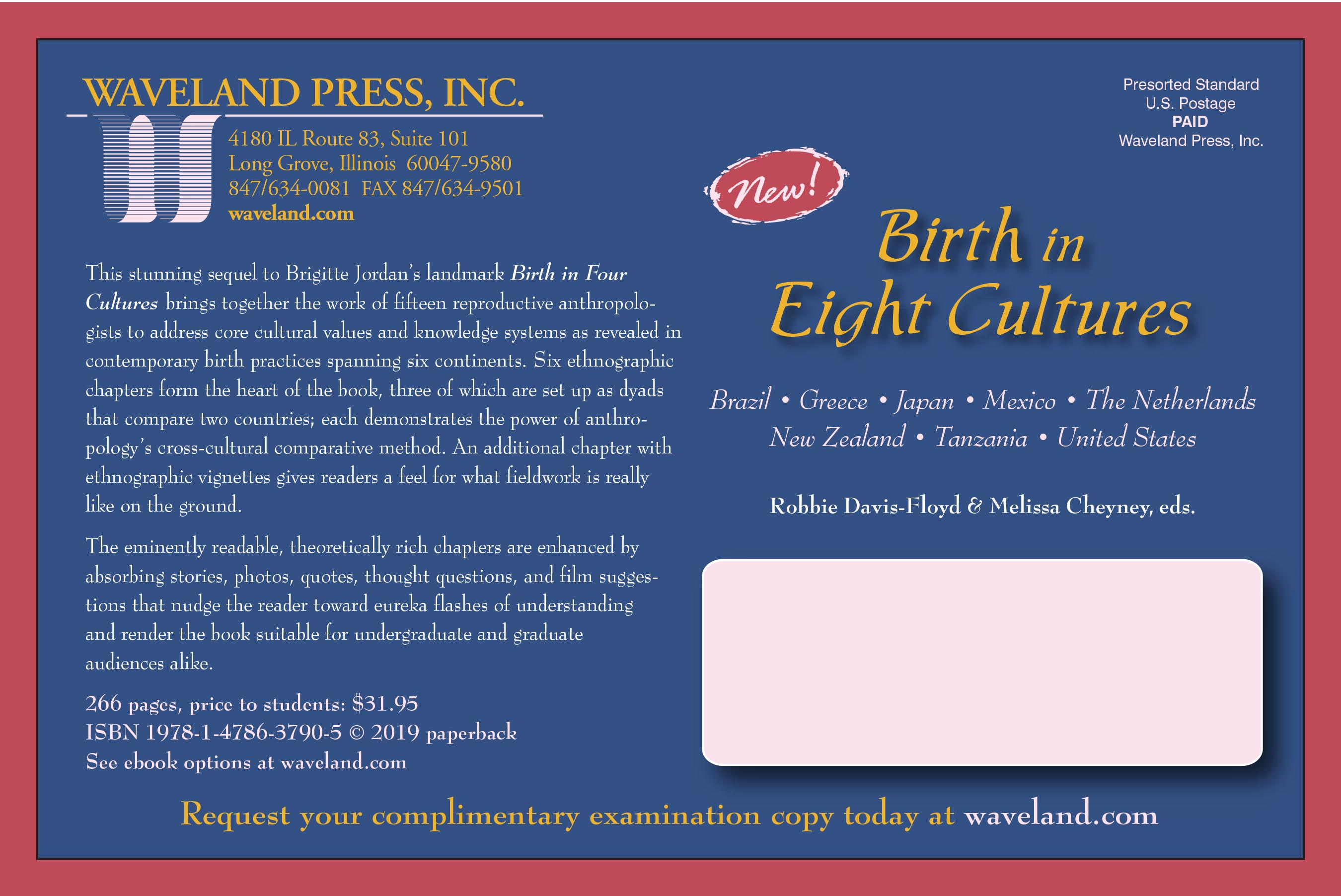 birth in 8 cultures order form