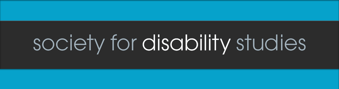 Society for Disability Studies Logo