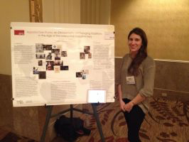 2015 Valene Smith Poster Prize Honorable Mention Rachel Ward and her poster
